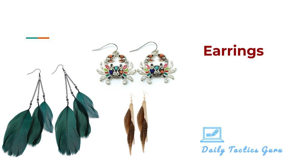 daily tactics guru-Earrings