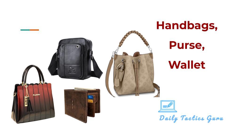 daily tactics guru-Handbags, Purse, Wallet