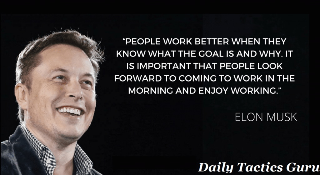 daily tactics guru-ELON MUSK'S BUSINESS ASPIRATIONS