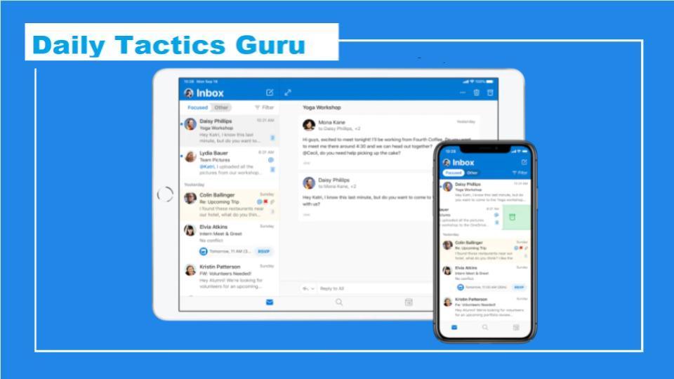 daily tactics guru-Start MS Outlook Application