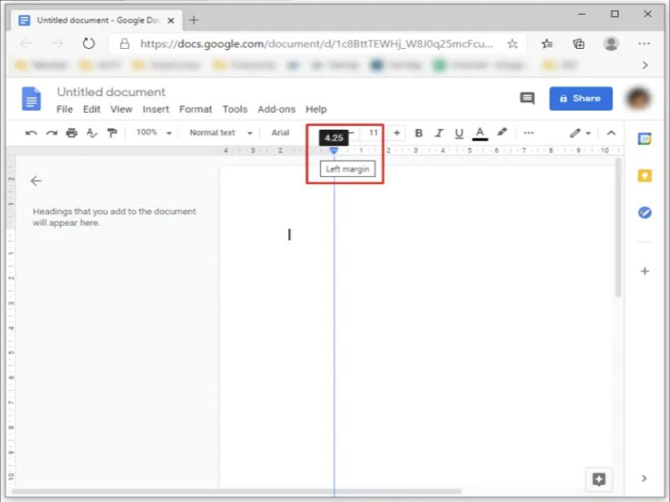 daily tactics guru-what are margins in google docs